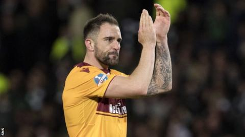 Motherwell defender Peter Hartley