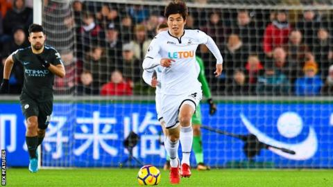 Ki Sung-yueng has played 127 league games for Swansea since joining from Celtic in 2012