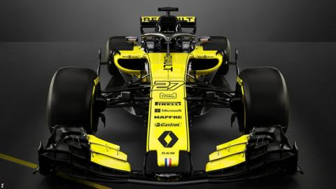 Renault launch the R18