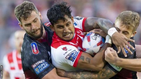 St Helens v Wigan Warriors
