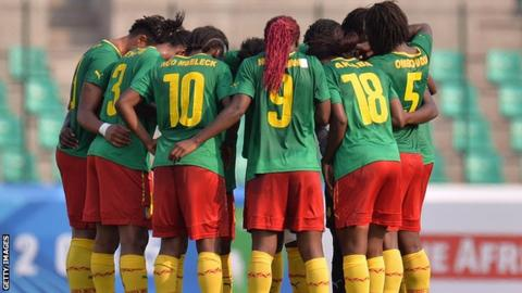 Cameroon's Women's team