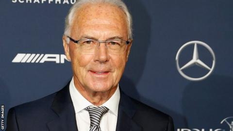 Franz Beckenbauer is the honorary president of Bayern Munich
