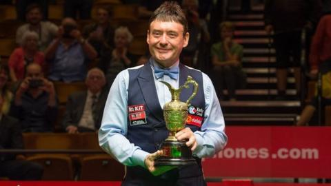 Jimmy White: Snooker legend triumphs at the Crucible - at last