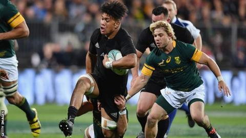 Rugby championship new zealand beat south africa and win title bbc sport - English rugby union league tables ...