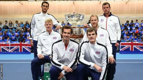 Great Britain's successful Davis Cup team of 2015