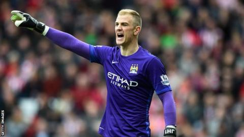 Hart Has Not Played For City Since A Champions League Game In August
