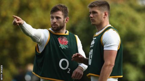 Elliot Daly and Owen Farrell