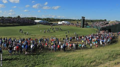 The PGA Tour schedules some of the biggest events in the USA