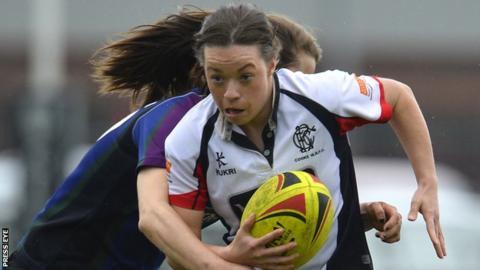 Eliza Downey is a former Ireland international