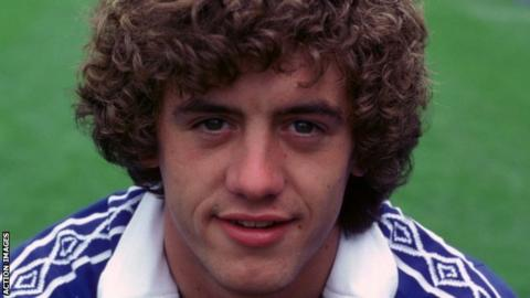 Gary Johnson while playing for Chelsea
