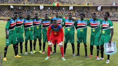 South Sudan national football team