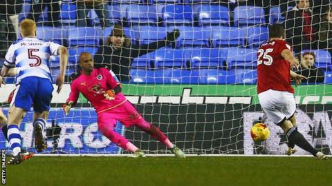 Chris Martin's penalty is saved by Ali Al-Habsi
