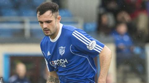 Peterhead defender Scott Ross