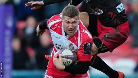 Ross Moriarty has played for England Under-20s, but qualifies for Wales through his father - former dual-code Wales international Paul