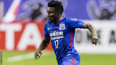 Nigeria striker Obafemi Martins looking for a new club