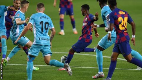 Barcelona wins by defeating Leganes with 2-0