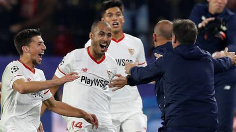 Guido Pizarro celebrates