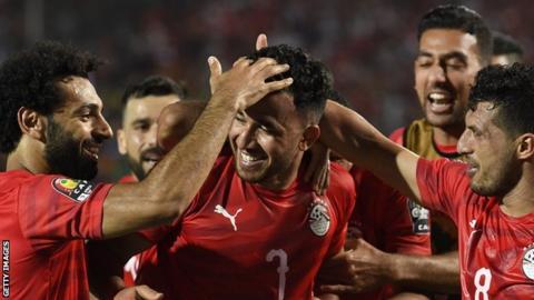 Mohamed Salah, Mahmoud Trezeguet, Egypt