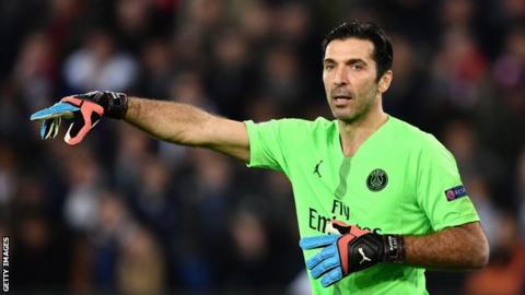 Gianluigi Buffon to leave Paris St-Germain at end of month