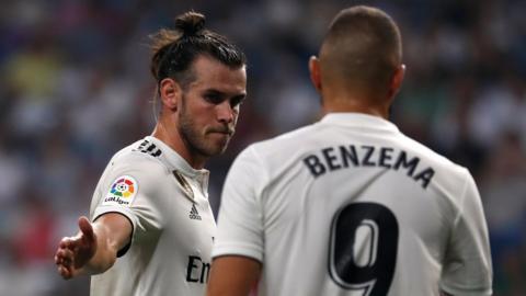 Gareth Bale and Karim Benzema