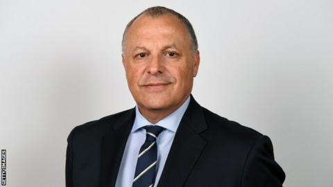 Egypt Football Association president Hany Abo Rida