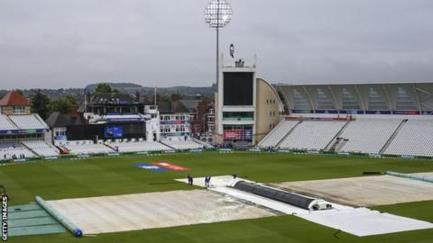 Cricket World Cup: What to do about the rain? - BBC Sport