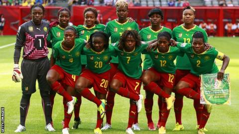 Image result for cameroon women's national football team