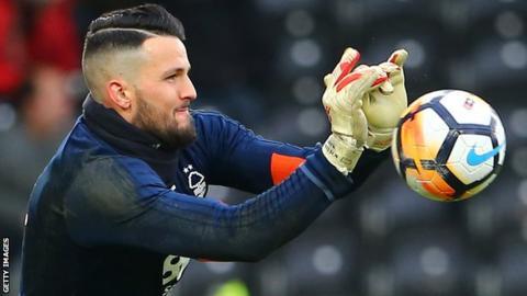 Stephen Henderson in action for Nottingham Forest