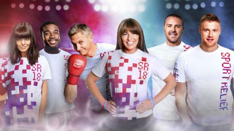 Sport Relief presenters
