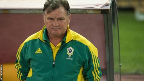 Spanish coach Jose Antonio Camacho