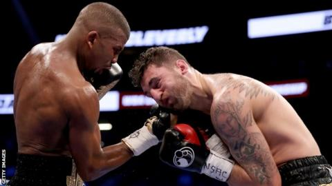 Badou Jack stopped Nathan Cleverly in the fifth round in Las Vegas