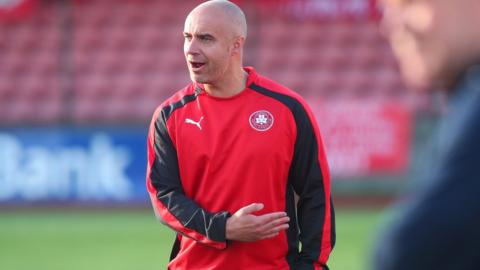 Gerard Lyttle was appointed Reds boss in midweek after a successful spell as caretaker manager and he saw his side cruise to a 3-0 win over Portadown