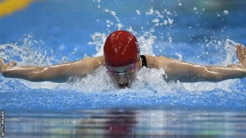 Hannah Miley finished fourth in the Olympic final of the 400m individual medley