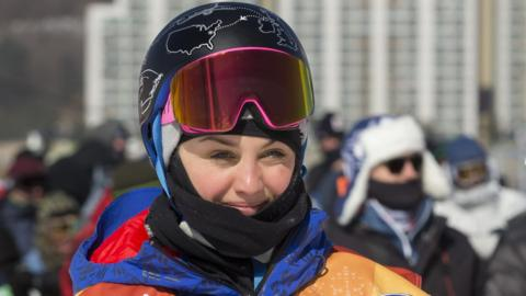 Aimee Fuller represented Great Britain at the 2014 and 2018 Winter Olympics