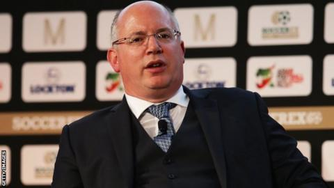 EFL chief executive Shaun Harvey