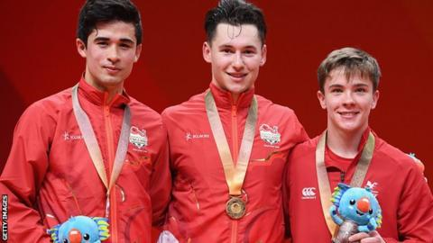 Minster's Ross Wilson wins table tennis gold at Commonwealth Games