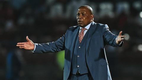 South Africa coach Ephraim Mashaba