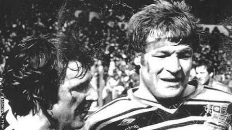 Charlie Stone won two Challenge Cup winners medals, but lost three times at Wembley, the final time against his old cub Featherstone in 1983