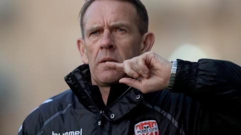 Kenny Shiels is aiming for a first cup success as Candystripes manager