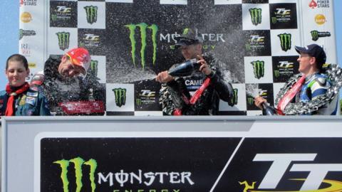 Supersport TT podium
