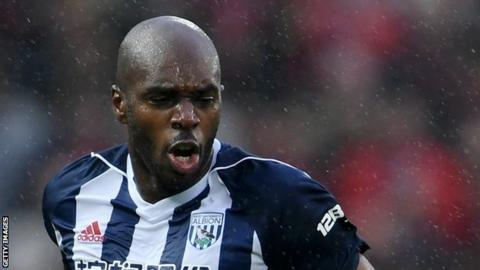 Allan Nyom made 69 appearances for West Bromwich Albion after joining from Watford in August 2016