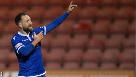 Queen of the South striker Stephen Dobbie
