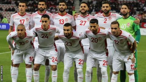 The Tunisia national team