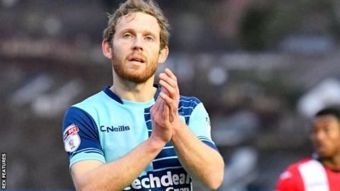Wycombe striker Craig Mackail-Smith
