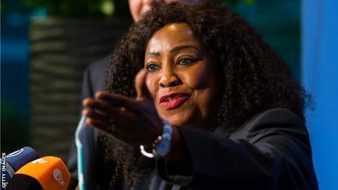 Fifa secretary-general Fatma Samoura