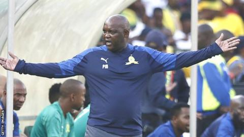Coach Pitso Mosimane