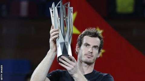 Andy Murray is a three-time winner at the Shanghai Masters