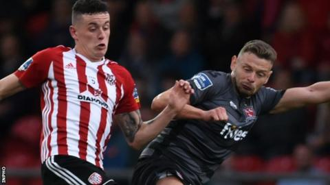 Derry equalised in injury-time to earn a draw against Dundalk last Friday