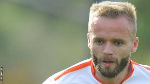 Ryan McLaughlin's most recent appearance for Blackpool this season came in their 2-0 defeat by Doncaster in November