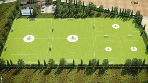 Doncaster Rovers Belles new training pitches